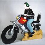 biker seat